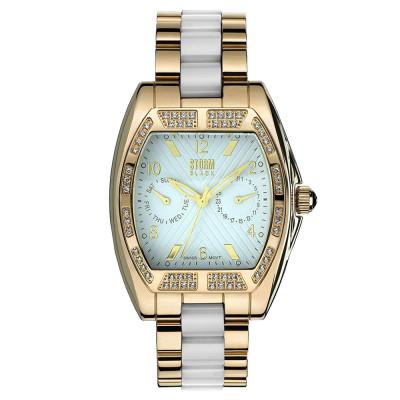ساعت مچی زنانه اصل | برند استورم | مدل ST4693/W/GD