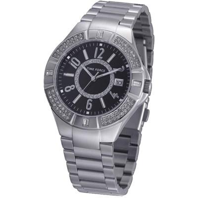 ساعت مچی زنانه اصل | برند تایم فورس | مدل TF3372L01M