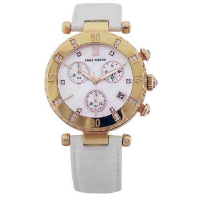ساعت مچی زنانه اصل | برند تایم فورس | مدل TF3384L11
