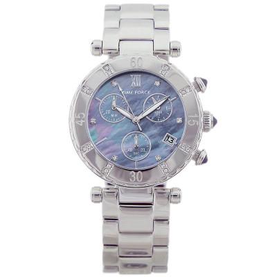 ساعت مچی زنانه اصل | برند تایم فورس | مدل TF4100L01M