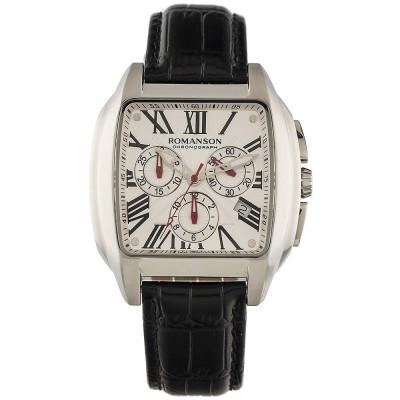ساعت مچی مردانه اصل | برند رومانسون | مدل TL1273HM1WAS5W