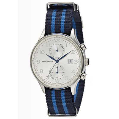 ساعت مچی مردانه اصل | برند رومانسون | مدل TL4218FM2WAS2U