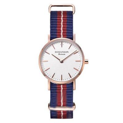 ساعت مچی زنانه اصل | برند رومانسون | مدل TL6A30LLVRASC1