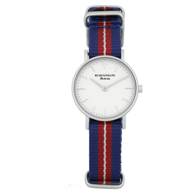 ساعت مچی زنانه اصل | برند رومانسون | مدل TL6A30LLVWASC1