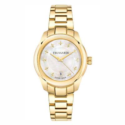 ساعت مچی زنانه اصل | برند تروساردی | مدل TR-R2453100503