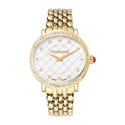 ساعت مچی زنانه اصل | برند تروساردی | مدل TR-R2453106502