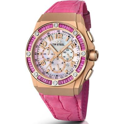ساعت مچی زنانه اصل | برند تی دبلیو استیل | مدل TW-STEEL-CE4006