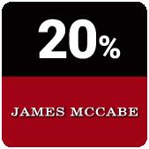 ساعت جیمز مک کیب